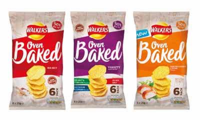 Free Walkers Oven Baked Crisps