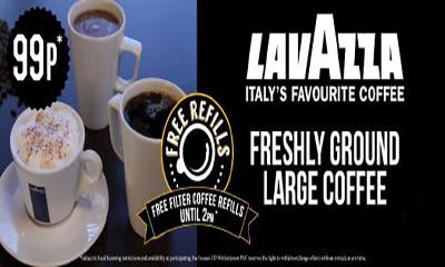 Lavazza Coffee Unlimited Refills