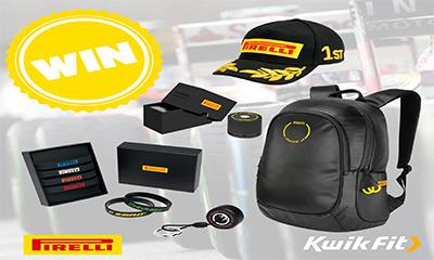 Win a Pirelli Racing Pack