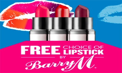 Free Barry M Lipstick