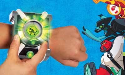 Free Ben 10 Deluxe Omnitrix Watch