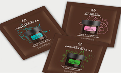 Free Body Shop Face Masks