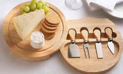 Free Cheese Board & Knife Set