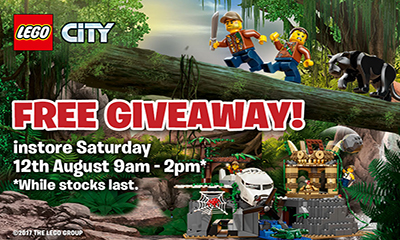 Free LEGO City Jungle Giveaway