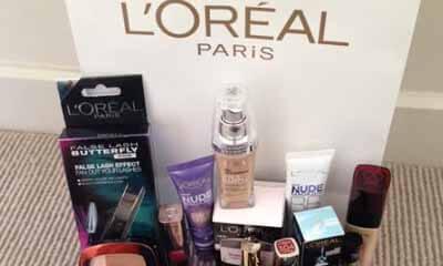 Free L'Oreal Paris Goody Bags
