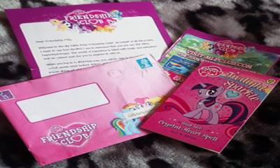 Free My Little Pony Goody Bag