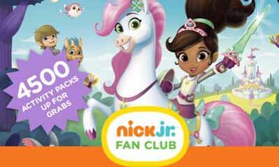 Free Nick Jr Kids Activity Pack