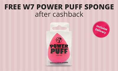 Free W7 Power Puff Sponge
