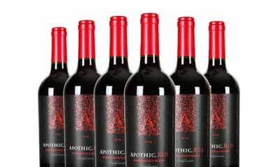 Free Bottle of Apothic Red Wine