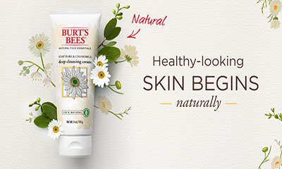 Free Burt's Bees Cleansing Cream
