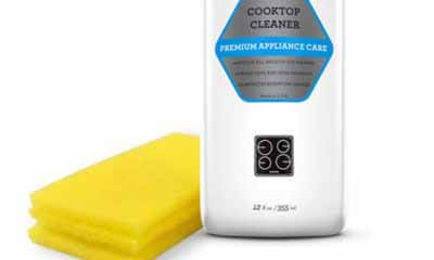 Free Cooktop Cleaner and Scrubber