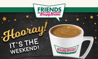 Free Hot Drink at KrispyKreme