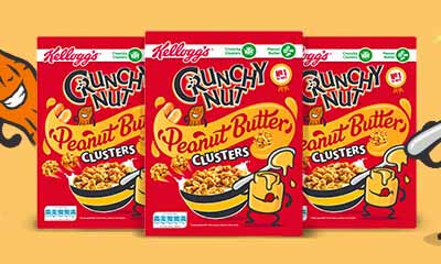 Free Kellogg's Crunchy Nut Peanut Butter Clusters