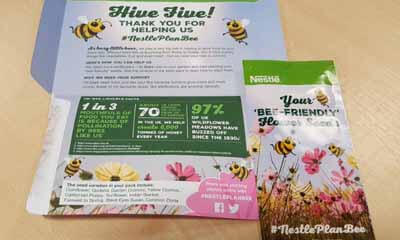 Free Nestle PlanBee Seed Pack