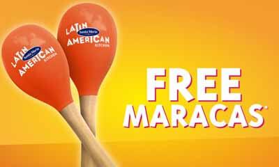 Free Santa Maria Maracas