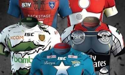 Free Super League Rugby Shirts