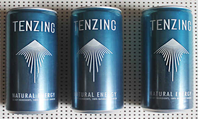 Free Tenzing Natural Energy Drinks