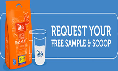 Free Tilda Rice Sample and Free Scoop
