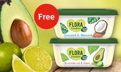 Free Tub of Flora Spread