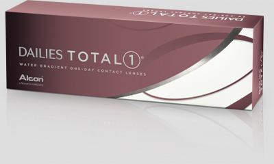 Trial of contact lenses from DAILIES TOTAL1®