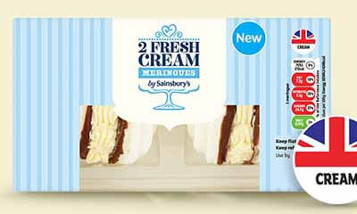 Free 2-Pack of Fresh Cream Meringues
