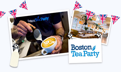 Free Boston Tea Party Coffee
