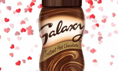 Free Galaxy Hot Chocolate