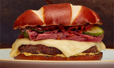 Free Gourmet Burger Kitchen Brisket Burger