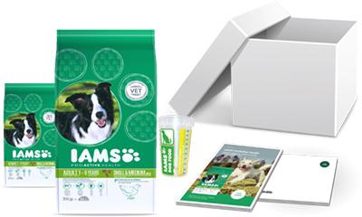 Free IAMS Dog Food & Scoop