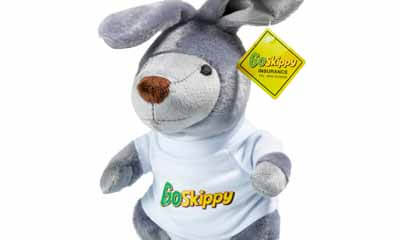 Free Kangaroo Soft Toy