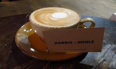 Free Artisan Coffee at Harris + Hoole