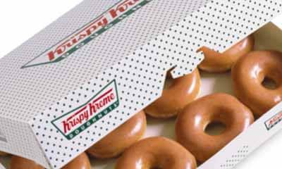 Free Box of KrispyKreme Doughnuts