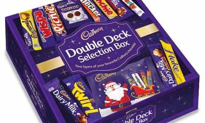 Free Cadbury Double Deck Selection Box
