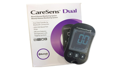 Free CareSens Blood Glucose Meter