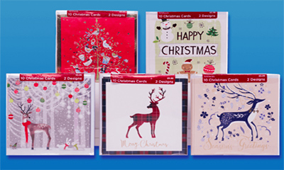 Free Christmas Cards Set