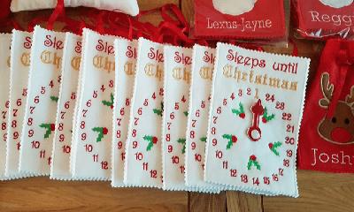 Free Christmas Fabric