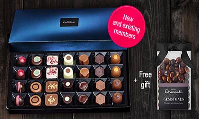 Free Hotel Chocolat Tasting Club Box