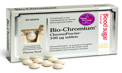 Free Pack of Bio-Chromium (Worth £7)