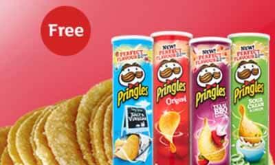 Free Pack of Pringles