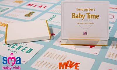 Free SMA Baby Milestone Cards