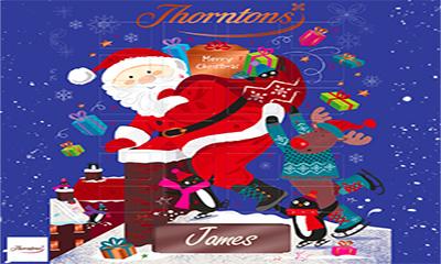Free Thorntons Personalised Advent Calendar