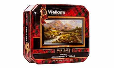 Win a Walkers Shortbread Biscuits Heritage Tin