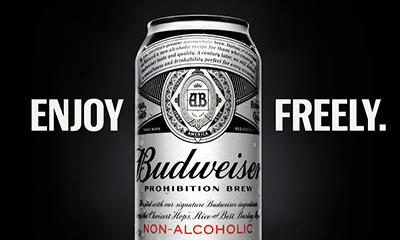 Free Budweiser Prohibition Brew Beer