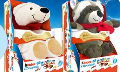 Free Kinder Fluffy Toy