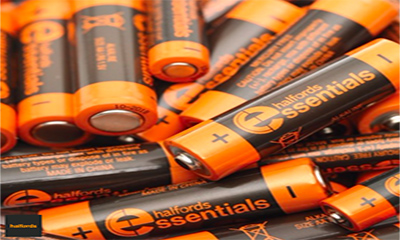 Free Pack of Halfords Essentials AA/AAA Batteries