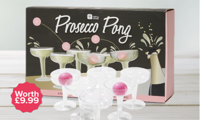 Free Prosecco Pong Game