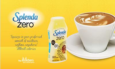 Free Splenda Zero Sweetener