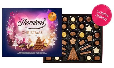 Free Thorntons Christmas Selection Box