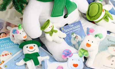 Win Snowman Penguin Books and Soft Toys
