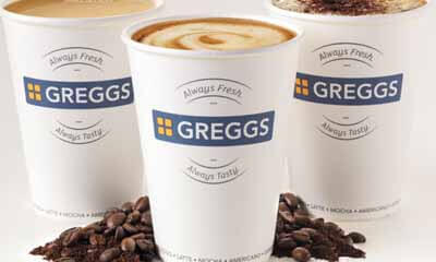 Free Flavoured Coffee from Greggs